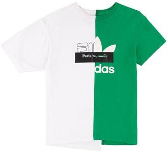 1/Off Paris Fila x Adidias printed T-shirt