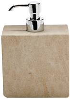 Water Works Limestone Soap Dispenser