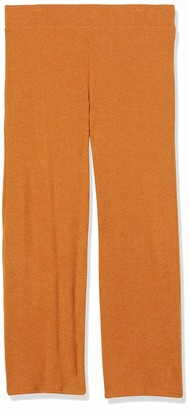 Forever 21 Women's Plus Size Ribbed Wide-Leg Pants