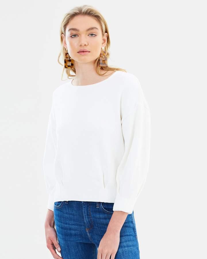Mng Pleats Sweater
