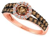 LeVian 14 Kt. Strawberry Gold Chocolate Diamond Ring, 1.13CTW