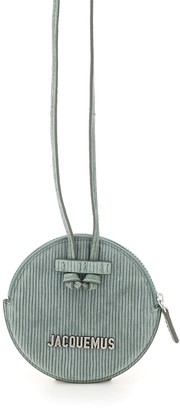 Jacquemus Le Pitchou Round Pouch With Shoulder Strap
