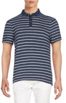 Calvin Klein Jeans Striped Cotton Polo