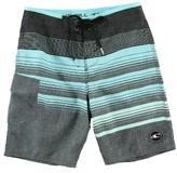 O'Neill Boy's Lennox Stripe Board Shorts