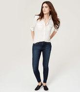 LOFT Tall Curvy Super Skinny Jeans in Vintage Mid Indigo Wash