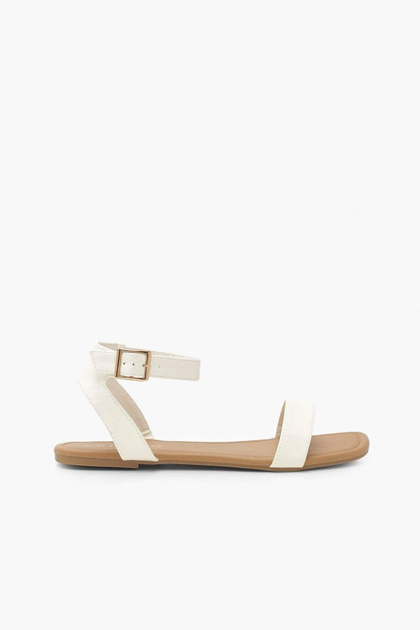 Thumbnail for your product : boohoo Wide Fit 2 Part Sandals