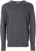 N.Peal The Oxford round neck 1ply jumper