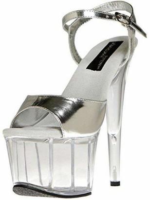 The Highest Heel Scarlett 21 Platform Sandal with Ankle Strap