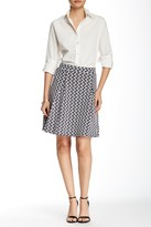 Romeo & Juliet Couture Textured Box Pleated Skirt