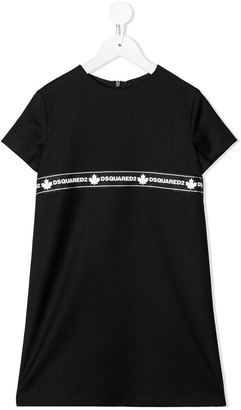 DSQUARED2 logo T-shirt dress