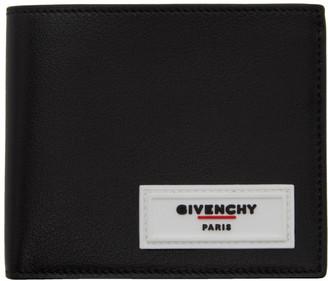 Givenchy Black Rubber Logo Wallet