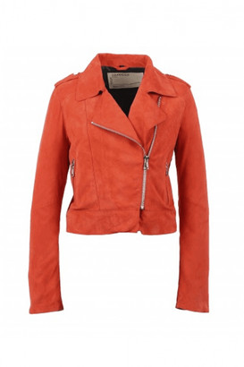 Oakwood Zulina Suede Biker Jacket - Small