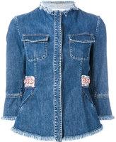 Bazar Deluxe - denim jacket - women - Cotton - 40