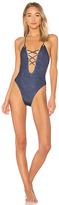 Blue Life Seaside One Piece in Blue. - size L (also in M,S,XS)
