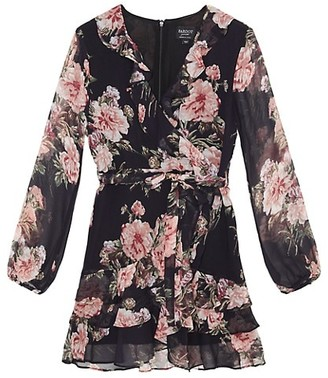 Bardot Junior Girl's Cassidy Floral Wrap Dress
