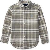 Ralph Lauren Cotton-Blend Madras Shirt