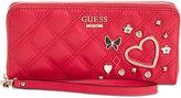 GUESS Darin Large Zip-Around Wallet
