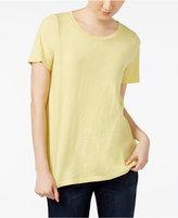 Eileen Fisher Organic Cotton T-Shirt, Regular and Petite