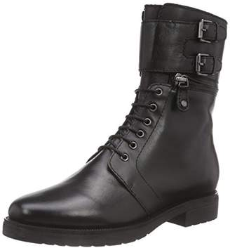 B | Private BPrivate Women's C1302G Cold Lined Riding Boots Half Length Black Size: