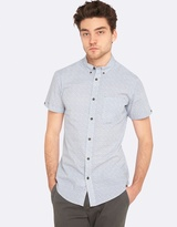 Oxford Tottenham Short Sleeve Print Shirt