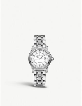 CARL F BUCHERER 00.10637.08.23.21 Patravi stainless steel watch