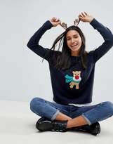Brave Soul Christmas Reindeer Jumper