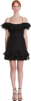 Zimmermann Dress In Black Polyester