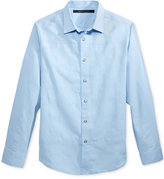 Sean John Men's Open Weave Linen Shirt, Only at Macy's