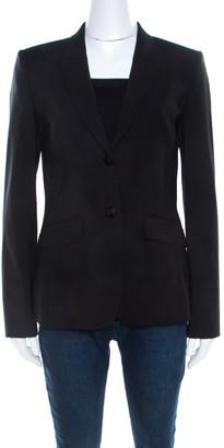 HUGO BOSS Black Stretch Wool Classic Tailored Julea Blazer M