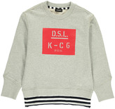 Diesel Sampa Striped Sweatshirt