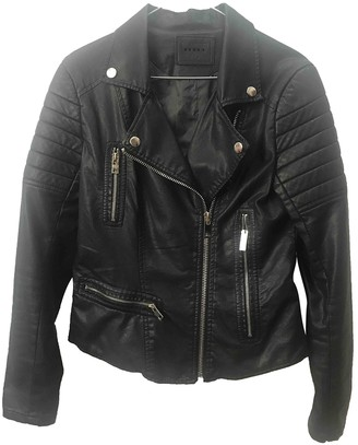 Blank NYC Black Leather Jacket for Women