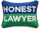 Jonathan Adler Honest Lawyer Pillow