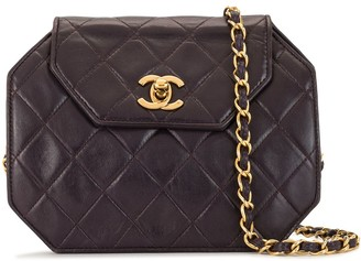 Chanel Pre Owned 1990 Quilted Clutch