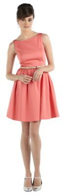 Jessica Simpson Belted Fit and Flare Dress