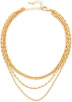 Lacey Ryan Triple Chain Choker Necklace