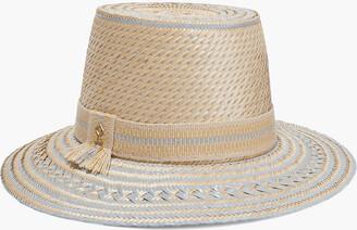 Yosuzi Nena Woven Straw Hat