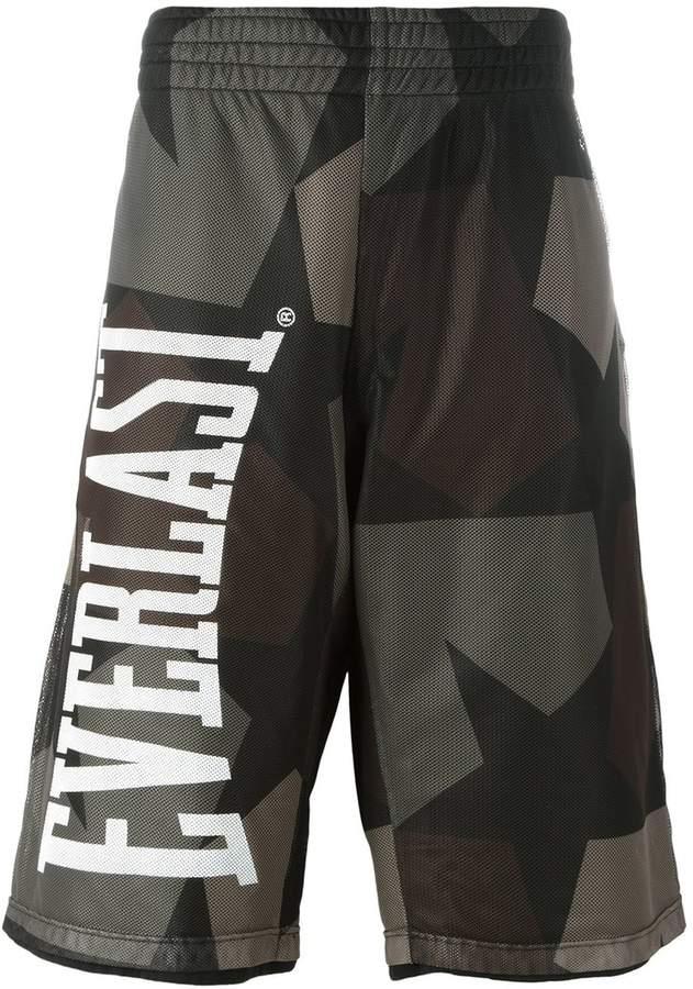 Ports 1961 camouflage print bermuda shorts