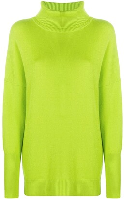 Chinti and Parker Roll Neck Cashmere Jumper