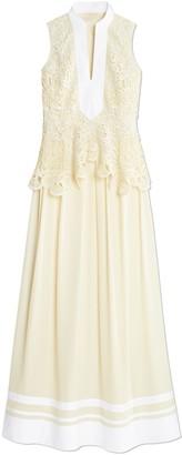Tory Burch Crochet Lace Tunic Dress