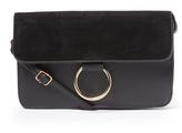 Kathy Ireland Black Chain Crossbody Bag