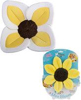 Yellow Lotus Bath Cushion & Wash Cloth