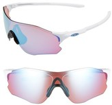 Oakley Women's Evzero Path 54Mm Sunglasses - White/ Prizm Sapphire Snow