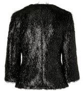Black 3/4 Sleeve Jacket