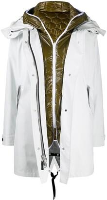 Ienki Ienki Multi-Layered Parka Coat