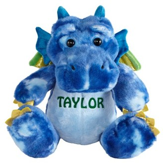 Unbranded Legendary Friends Plush Dragon - Blue