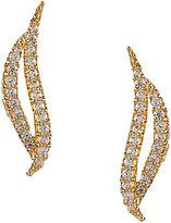 Nadri Viento Cubic Zirconia Stud Earrings