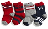 Tommy Hilfiger Infant Socks 4pk