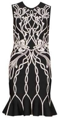 Alexander McQueen Women's Sleeveless Mini Dress - Black - Size XS