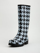 Houndstooth Rain Boot