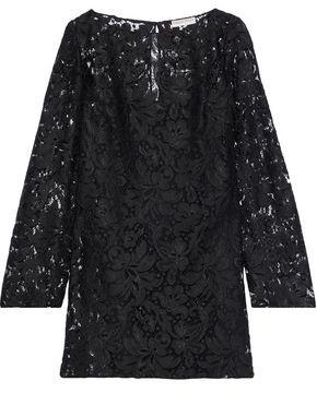 Emilio Pucci Corded Lace Mini Dress